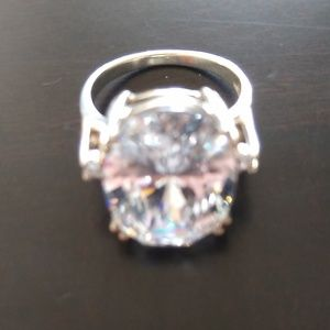 Statement Size 7 CZ in .925 Sterling
